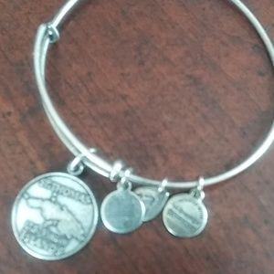 Alex and ani st. Thomas virgin island bracelet